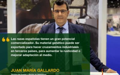 ENTREVISTA A JUAN MARÍA GALLARDO, DOCTOR EN VETERINARIA Y TÉCNICO DE FEAGAS