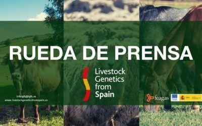 LIVESTOCK GENETICS FROM SPAIN CELEBRA UNA RUEDA DE PRENSA PARA PRESENTAR EL PROYECTO DEL GO EXPORTGEN
